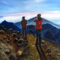 2426 m, oil on canvas, 80x60 cm, 2009. (SOLD)